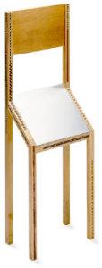 「思いっきり短時間の来客のための椅子」