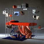 ムナーリのベッド(システム家具)