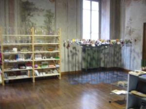 ギャラリーと建物の内部(フレスコ画)