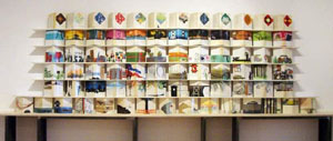 「毎月の本(libro al mese)」展@ミラノ